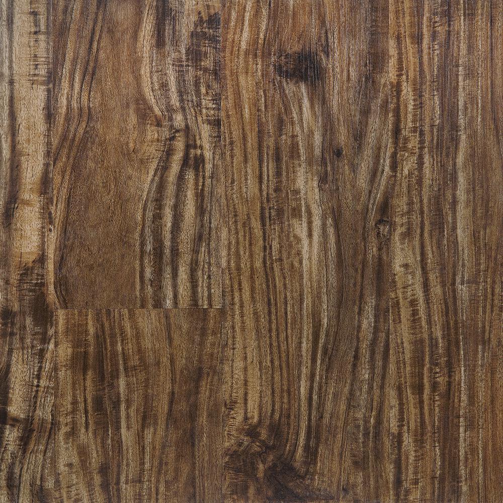 Tiger Acacia 5.91 in. x 48 in. HDPC Floating Vinyl Plank Flooring (19.69 sq. ft. per case)