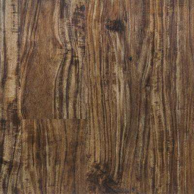 Tiger Acacia 5.91 in. x 48 in. HDPC Floating Vinyl Plank Flooring (19.69 sq. ft. per case)
