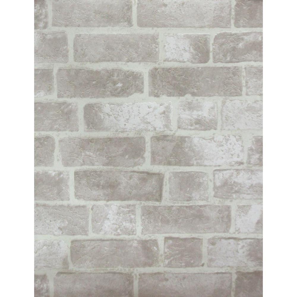 York Wallcoverings Brick Wallpaper He1045 The Home Depot