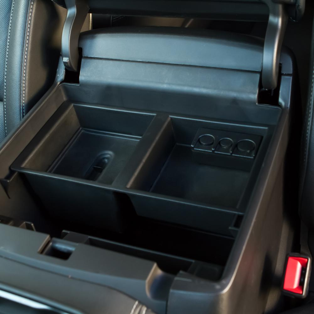 Superb Oxgord Center Console Insert Organizer For Cadillac Gmc And Chevy 2014 2017 With Lid Pdpeps Interior Chair Design Pdpepsorg