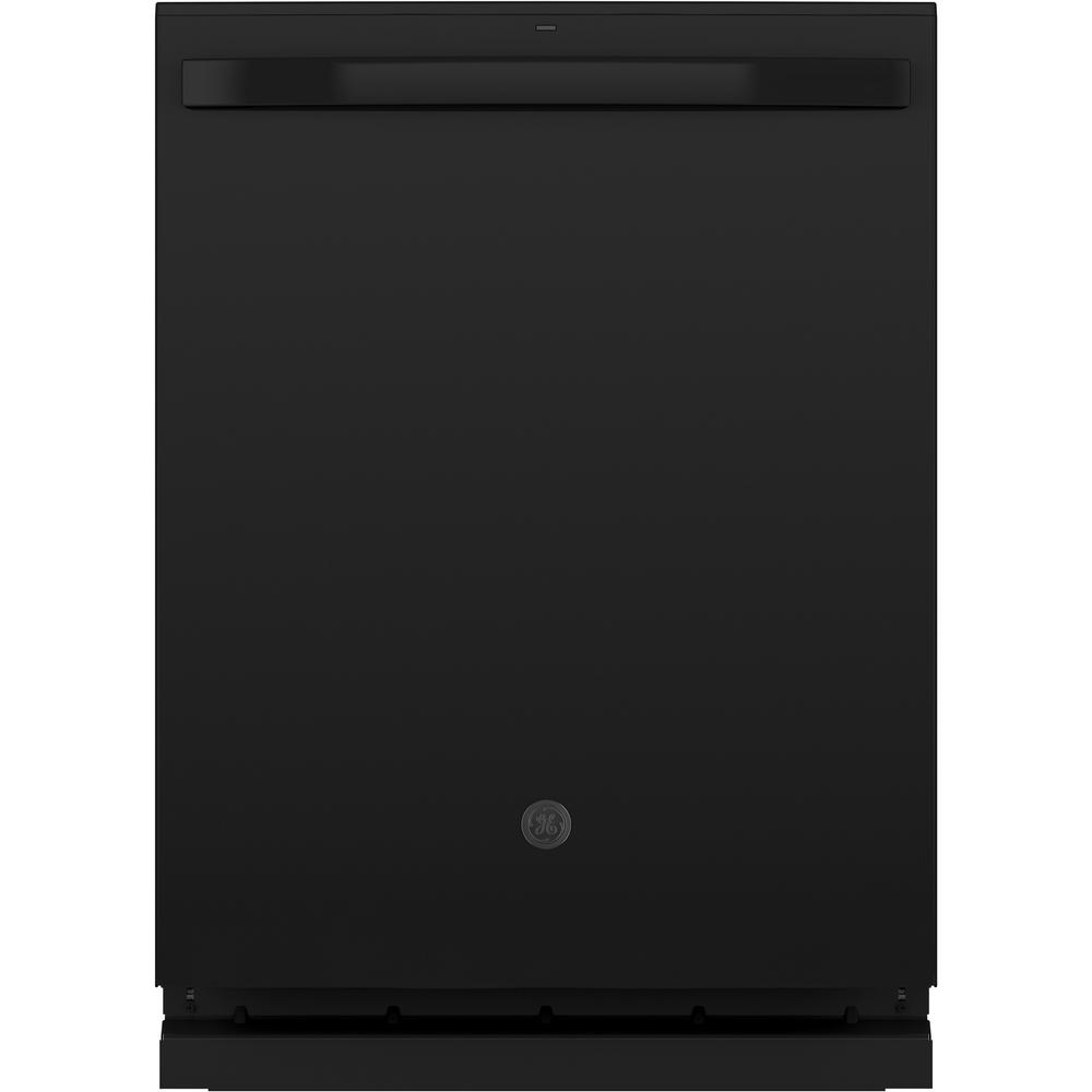 GE Dry Boost 48-Decibel Top Control 24-in Built-In Dishwasher (Black) ENERGY STAR Stainless Steel | GDT645SGNBB