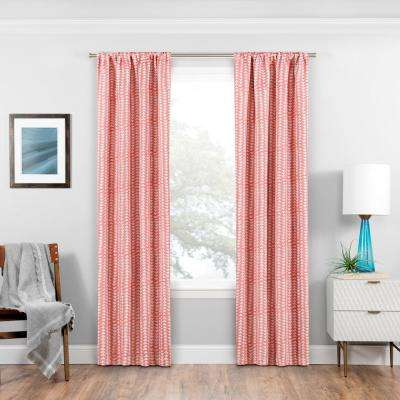 Coral - Curtains & Drapes - Window Treatments - The Home Depot