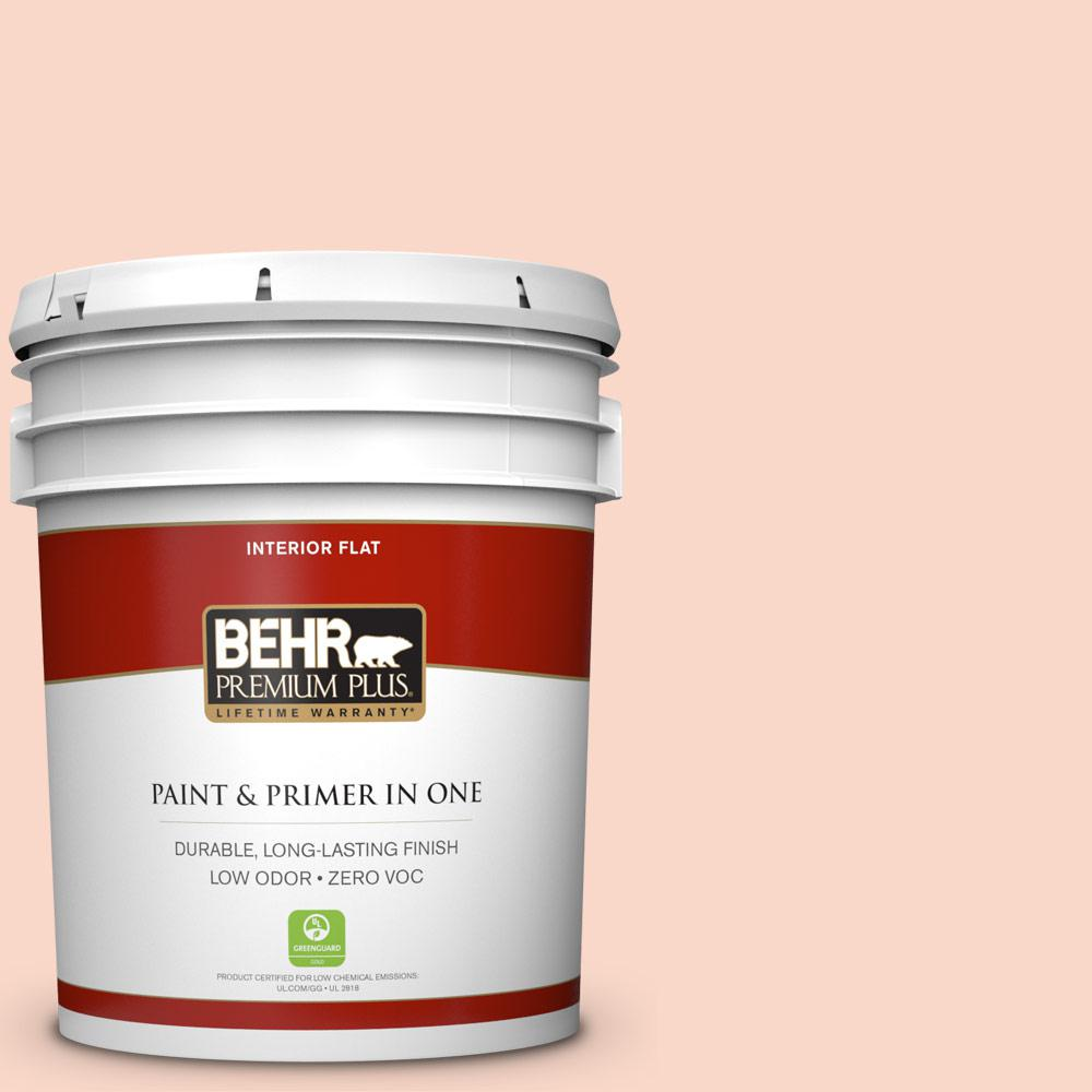 BEHR Premium Plus 5-gal. #240C-2 Heavenly Song Zero VOC Flat Interior Paint