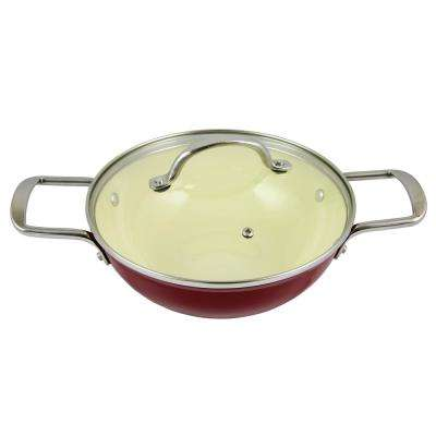 Lochner  3.25 Qt. Enameled Cast Iron Low Pot with Lid