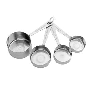 Cuisinart 4-Piece Stainless Steel Measuring Cup Set by Cuisinart