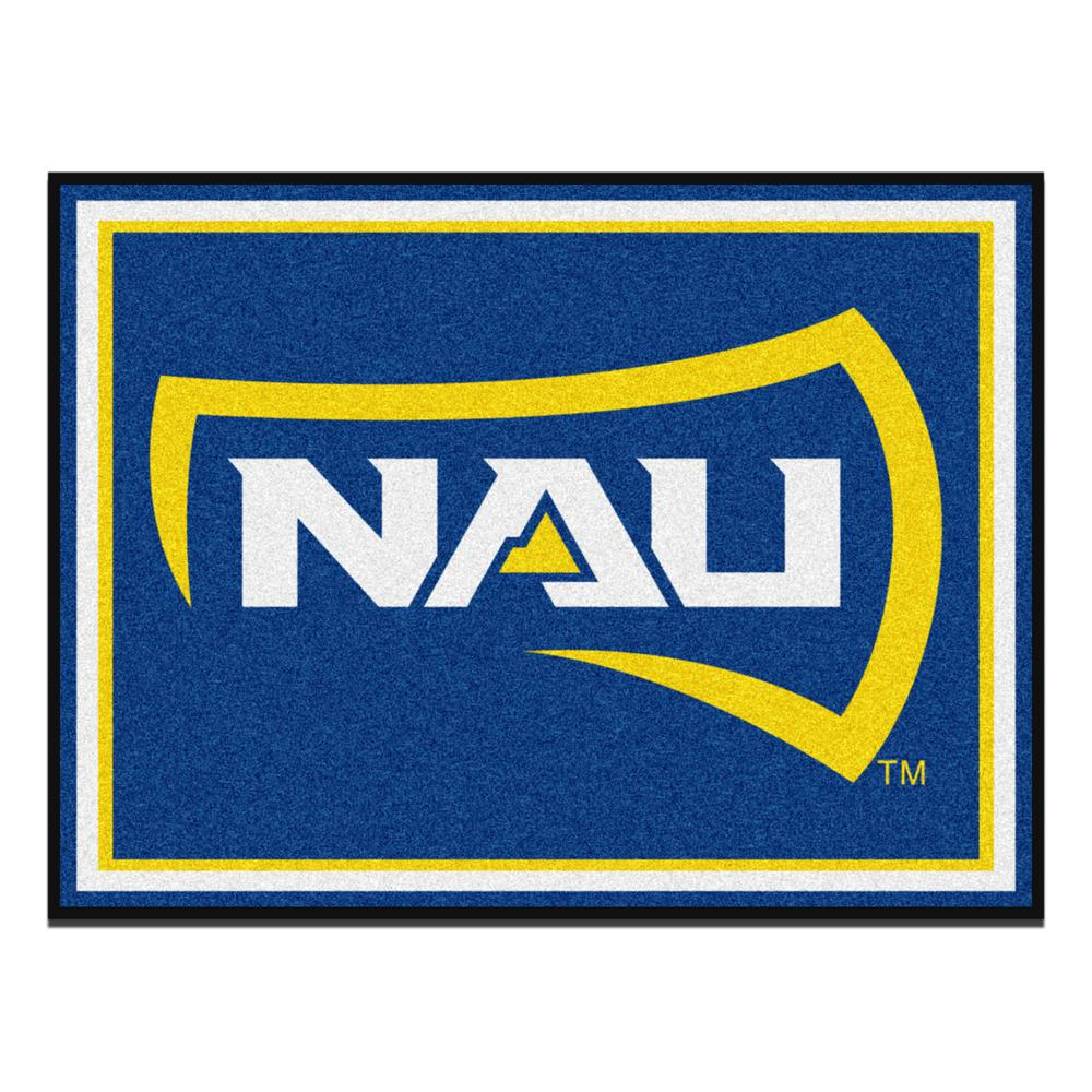 Fanmats Ncaa Northern Arizona University Blue 10 Ft X 8