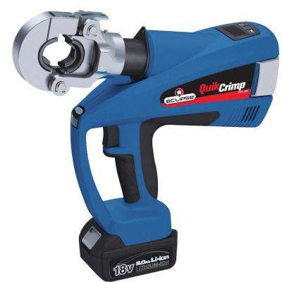 QuikCrimp - Battery Operated Hydraulic Crimper