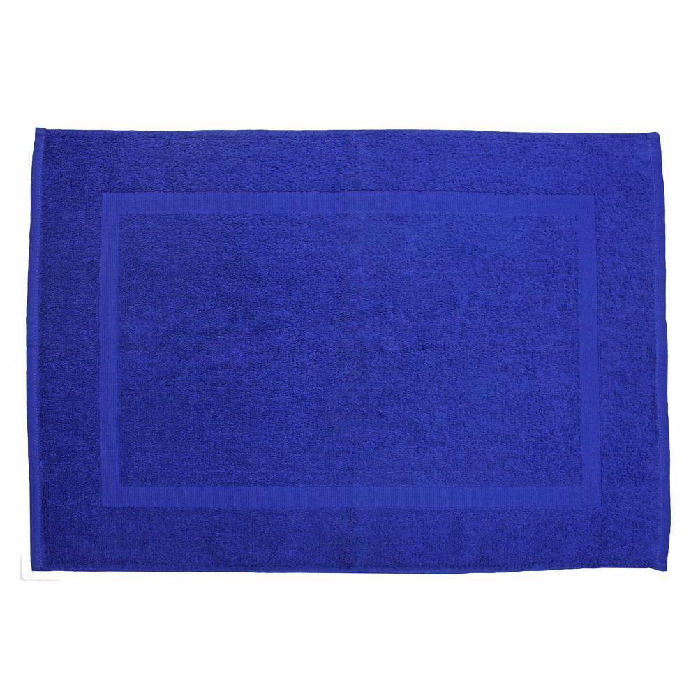 20 In X 30 In Royal Blue Provence Bath Mat 8675 The