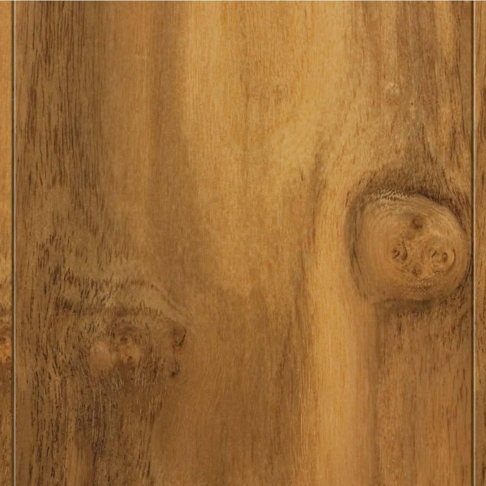 Home Legend Teak Natural 3/8 in. Thick x 4-3/4 in. W x 47-1/4 in. L Click Lock Hardwood Flooring (24.94 sq.ft/cs)-DISCONTINUED
