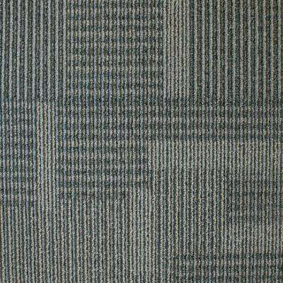 Park Avenue Steel Loop 19.7 in. x 19.7 in. Carpet Tile (20 Piece/Case)