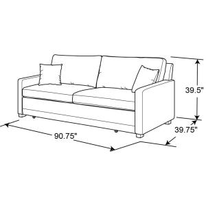 Awesome Serta Chelsea Queen Size Sleeper Convertible Sofa Brown Lamtechconsult Wood Chair Design Ideas Lamtechconsultcom