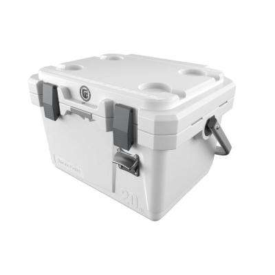 20 qt. Rotomolded Cooler with Built-In Cup Holders