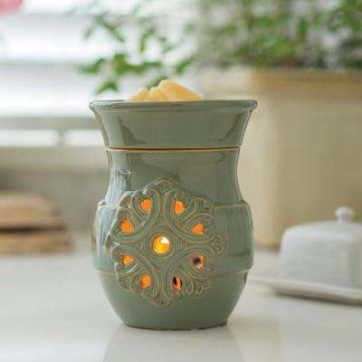 8.8 in. Medallion Illumination Fragrance Warmer
