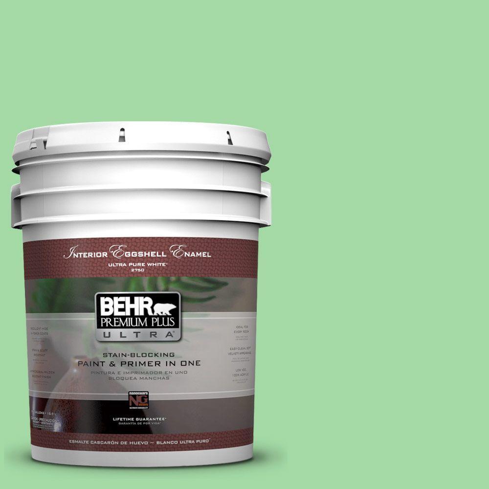 5-gal. #450B-4 Green Trance Eggshell Enamel Interior Paint