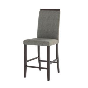Phenomenal Corliving Bistro Pewter Grey Fabric Counter Height Dining Forskolin Free Trial Chair Design Images Forskolin Free Trialorg