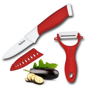 Click here to buy New England Cutlery 3 inch Paring Knife and Peeler Set by New England Cutlery.