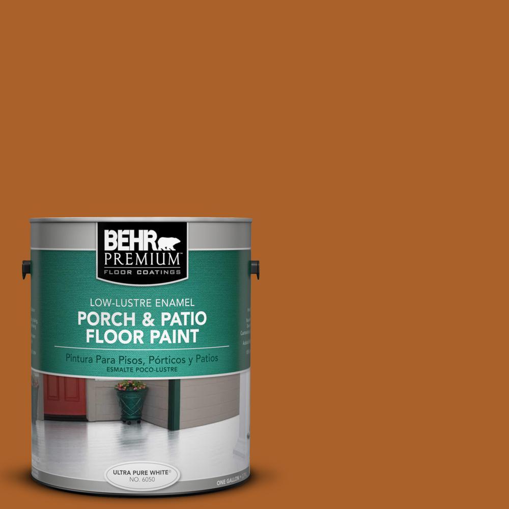 1 gal. #SC-533 Cedar Naturaltone Low-Lustre Porch and Patio Floor Paint