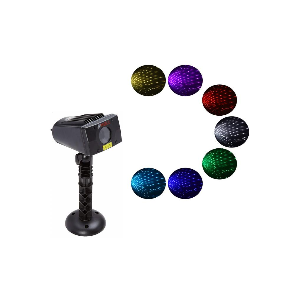 7 Color Lights-LEDMALL Full Spectrum Motion Star Effects 7 Color WHITE