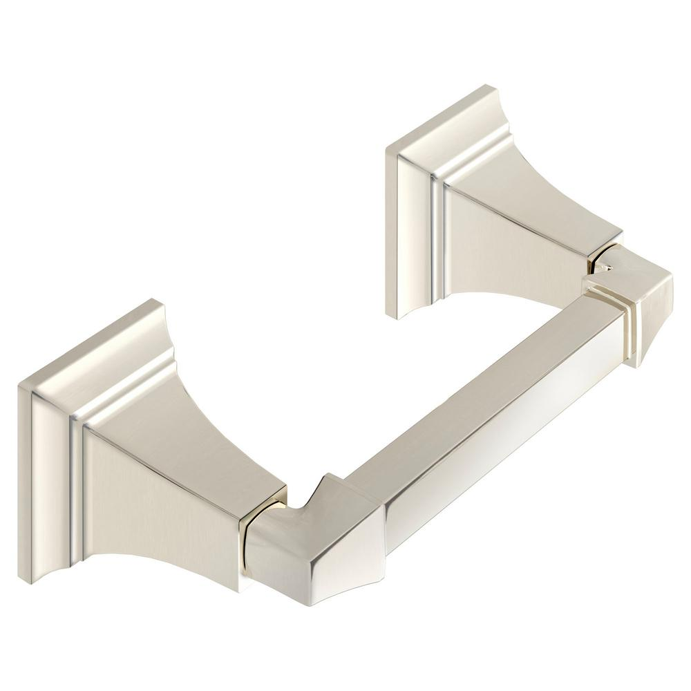 American Standard TS Series Double Post Toilet Paper Holder in Polished Nickel