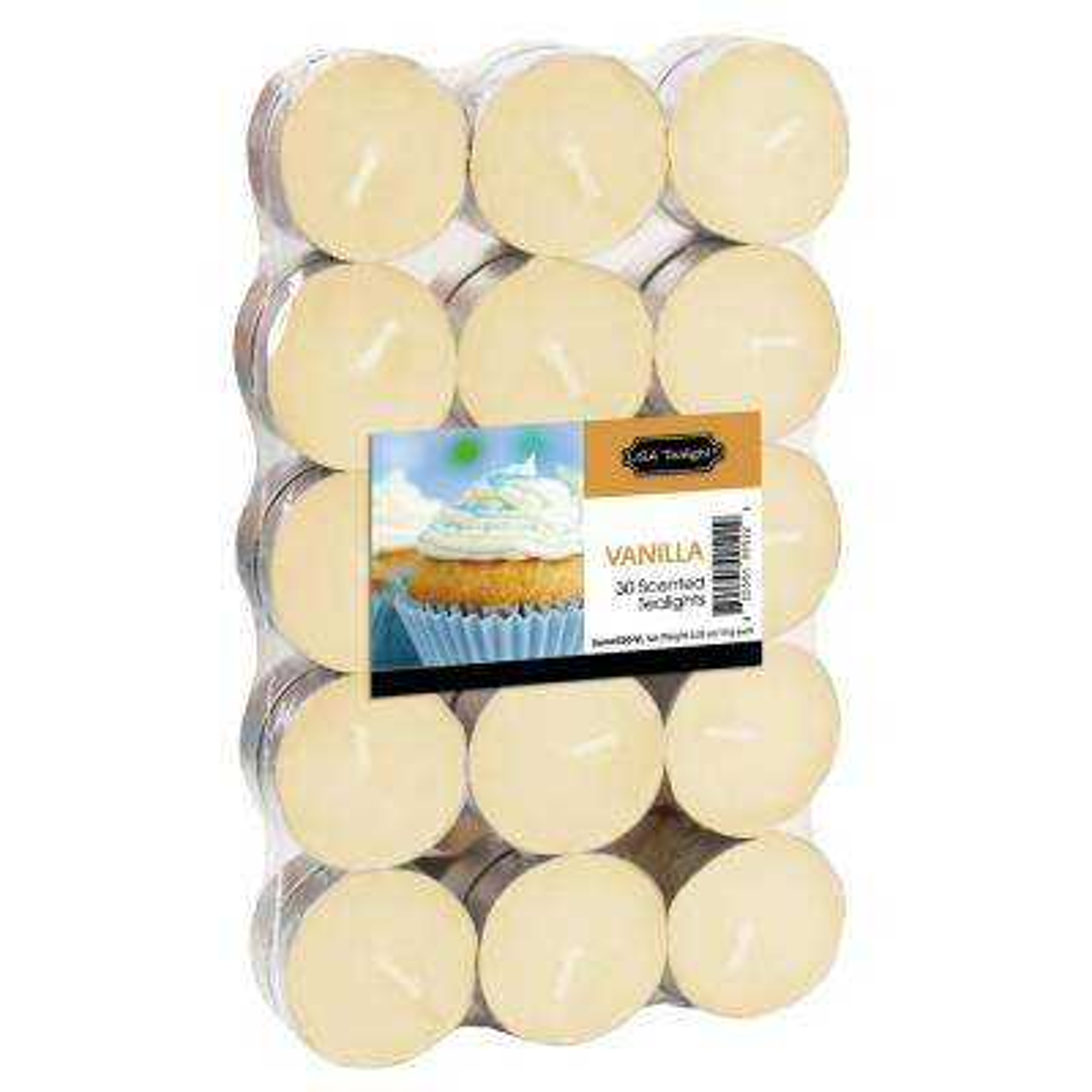 Vanilla Tealight Candles (Set of 60)