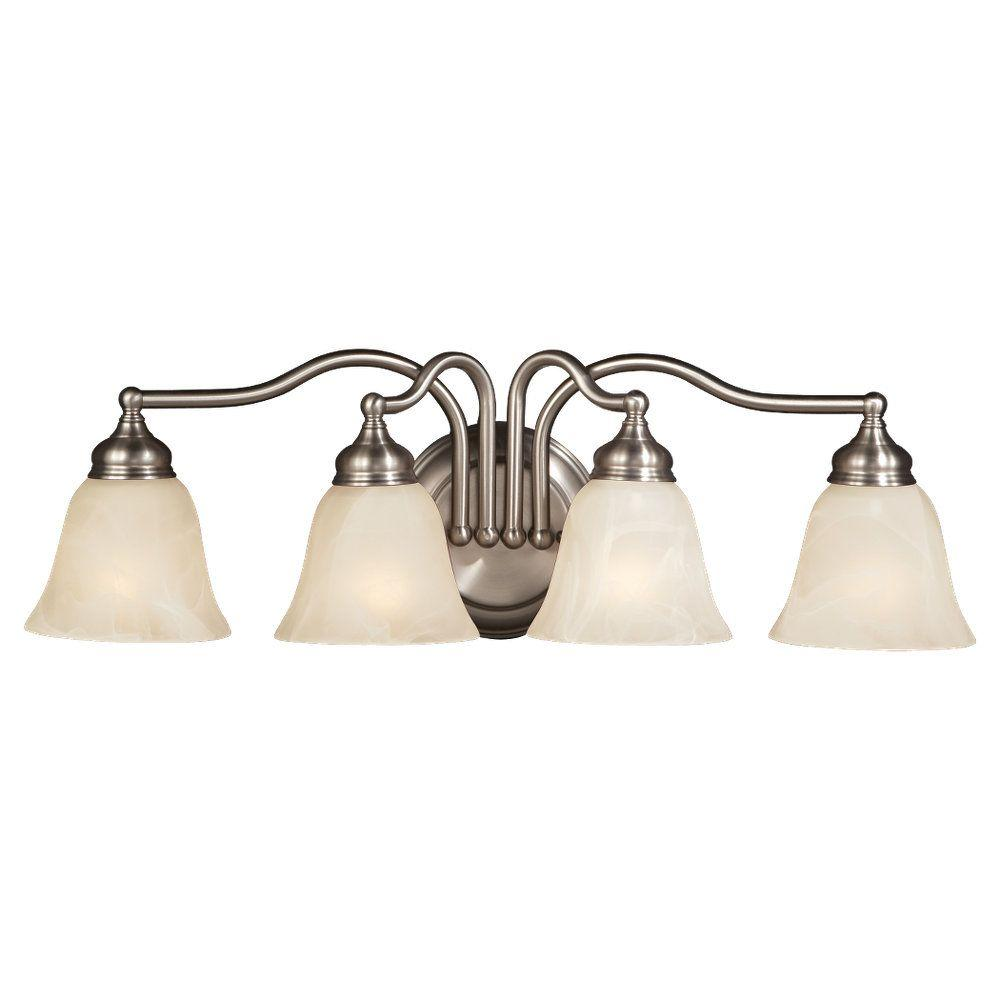 Feiss Bristol 4-Light Pewter Vanity Light-VS6704-PW