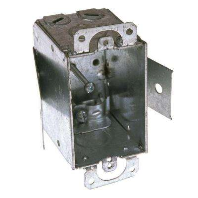 2-1/2 in. Deep Switch Box with 1/2 in. KO's, NMSC Cable Clamps and Plaster Ears (20-Pack)