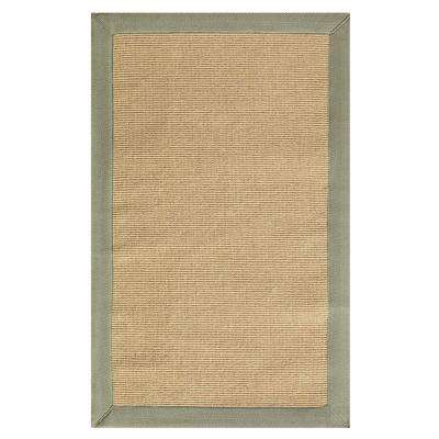 Washed Jute Lichen 6 ft. x 9 ft. Area Rug