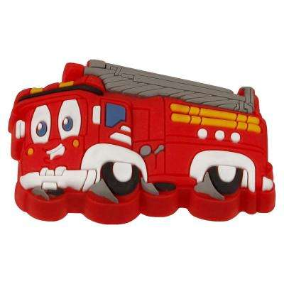 Kids Corner Fire Engine 1-11/16 in. x 1-3/16 in. Multi-Colored Metal Cabinet Knob