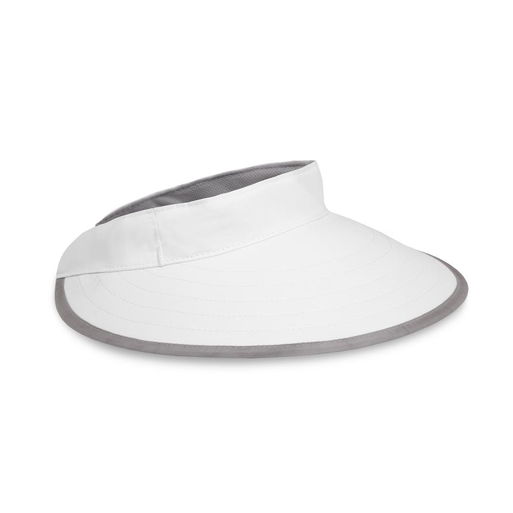 Sunday Afternoons Women s One Size Fits All White Sport Visor ... 42b168f8b74
