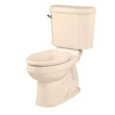 Doral Classic Champion 4 2-piece 1.6 GPF Right Height Elongated Toilet in Bone
