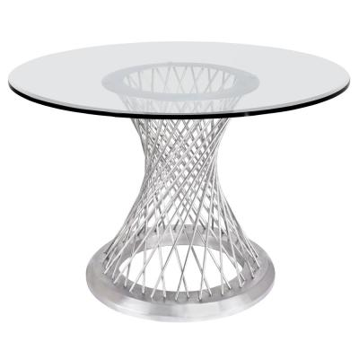 Calypso Glass Dining Table
