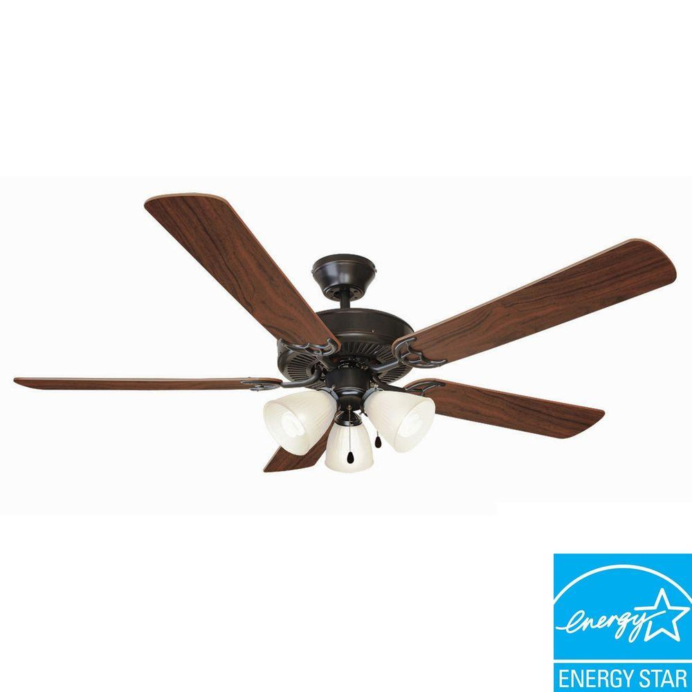 Oil Rubbed Bronze Energy Star Ceiling Fan