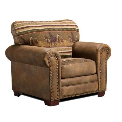 Wild Horses Lodge Upholstered Chair