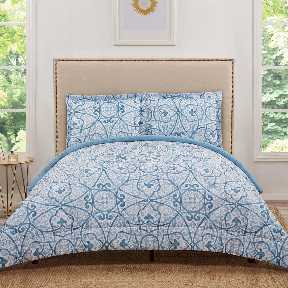 Marcello Blue King Comforter Set