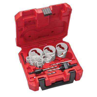 Metal Hole Saw Kit (15-Piece)