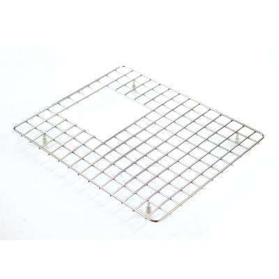 13.88 in. D x 17.25 in. W Sink Grid for GTDC3322, GUDC3322 Left-Bowl in Stainless Steel