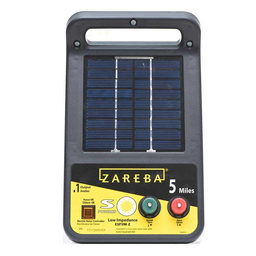Zareba Solar Energizer 0 1 Joule Esp5m Z The Home Depot