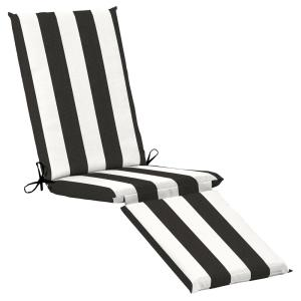 19 x 74 Sunbrella Cabana Classic Outdoor Chaise Lounge Cushion