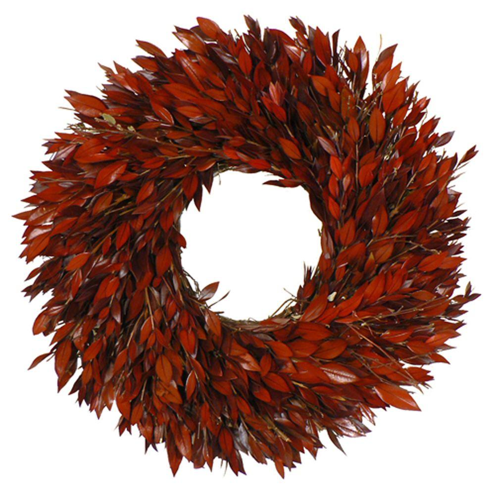 The Christmas Tree Company Taste of Myrtle 16 in. Dried Floral Wreath-DISCONTINUED
