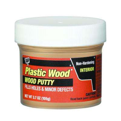Plastic Wood 3.7 oz. Pickled Oak Wood Putty (6-Pack)