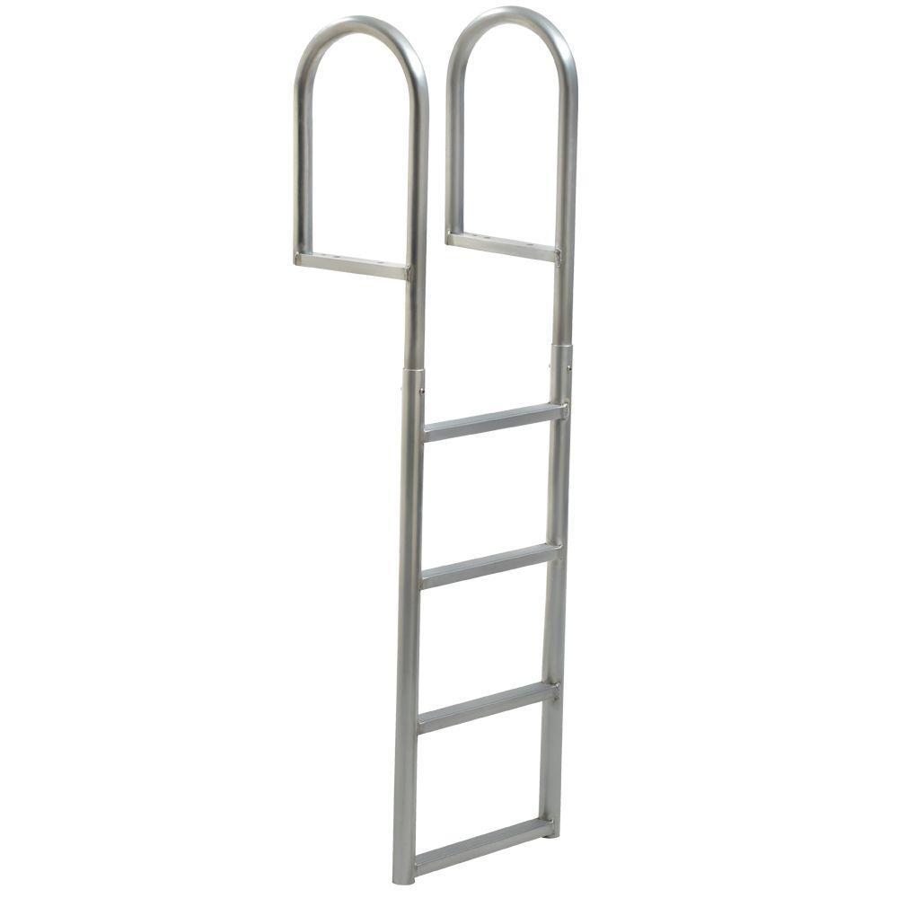 4-Step Standard Rung Aluminum Dock Ladder