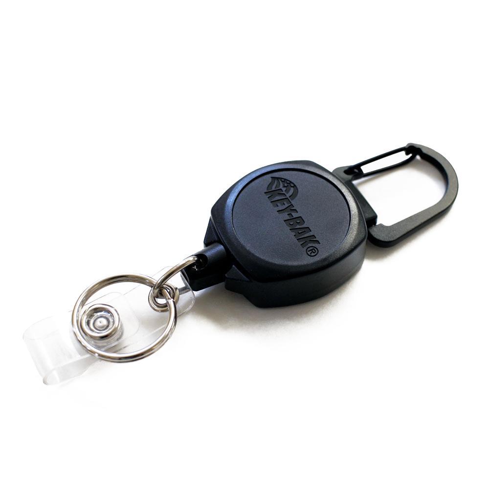 "1/"" STEEL SPLIT RING KEY-ID-BADGE-REEL HOLDER CHAIN 3"