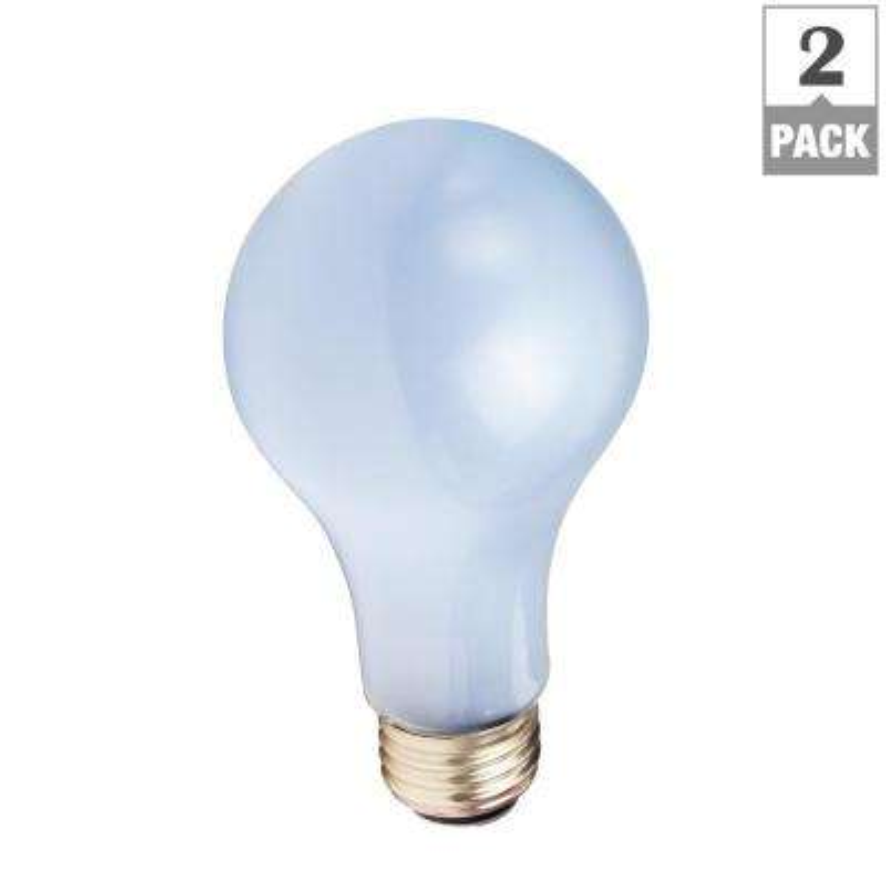 50-100-150-Watt A21 Incandescent 3-Way Light Bulb (2-Pack)