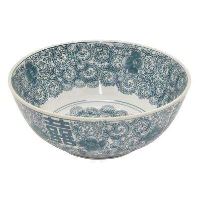 5 in. Green Ceramic Bowl