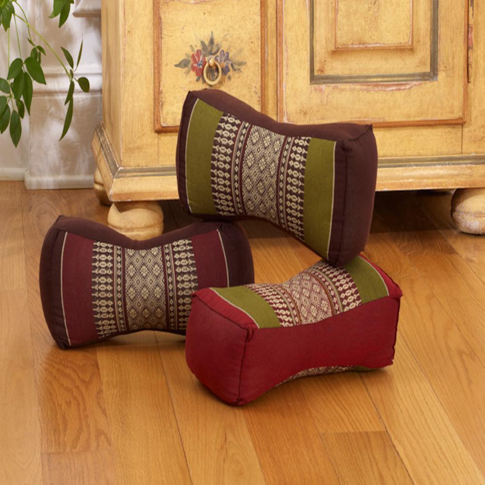Sage and Brown Bone Pillow