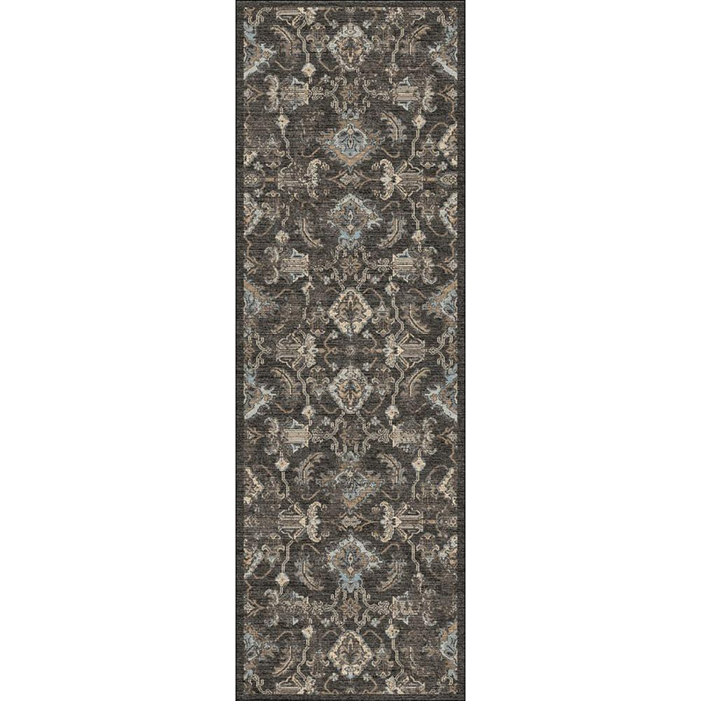 Home Decorators Collection Bahari Gray 2 Ft. 6 In. X 8 Ft