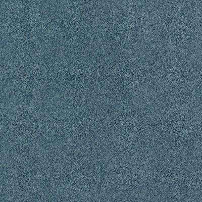 Carpet Sample - Shining Moments I (S) - Color Cayman Blue Texture 8 in. x 8 in.