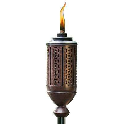 65 in. Cabos Metal Torch Copper