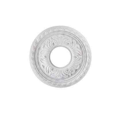 Violetta 12 in. White Ceiling Medallion