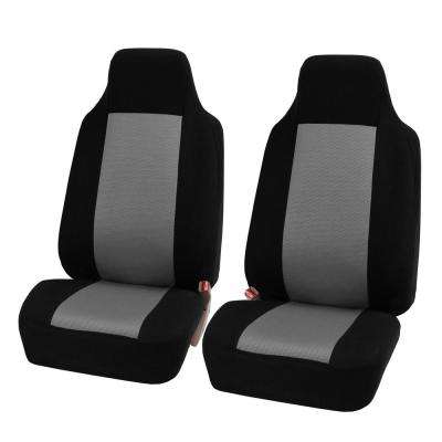 Sandwich Fabric 47 in x 23 in. x 1 in. Half Set Front Seat Covers